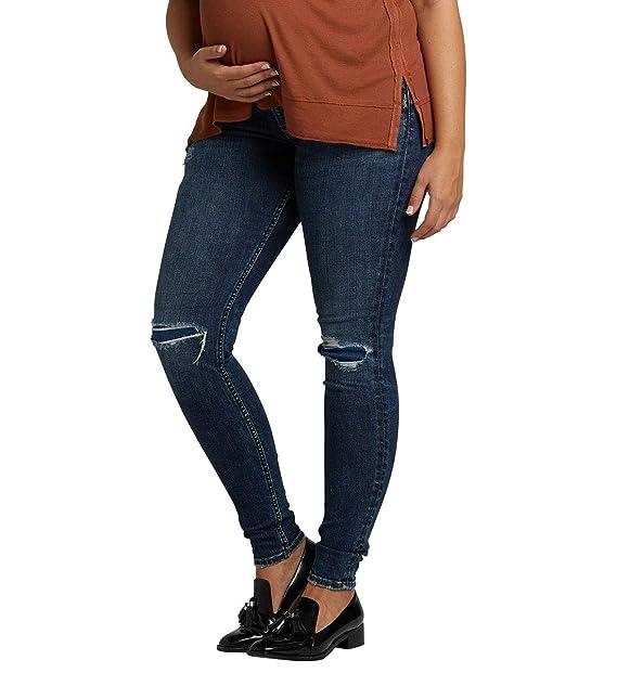 Amazon.com: Silver Jeans Co. Suki Curvy Fit - Pantalones ...