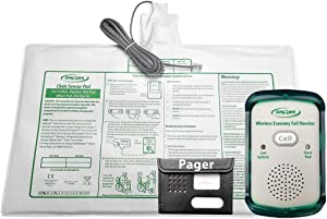 Wireless Economy Quiet Fall Alert with 10in x 15in Chair Pad and Caregiver Pager