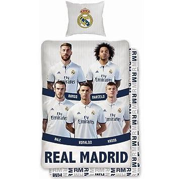 Bettwasche 140x200 70x90 Bettbezug Bettgarnitur Real Madrid 088 Ronaldo