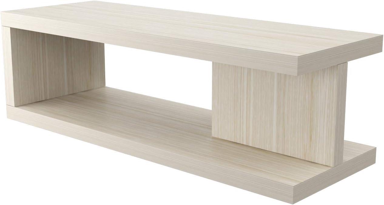 VE.CA-ITALY Mesa de centro Moderna mesa de café en madera, color ...