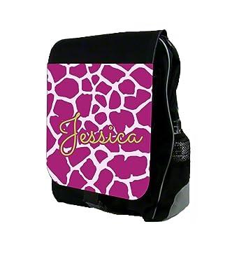 amazon com purple giraffe print max wilder tm customizable