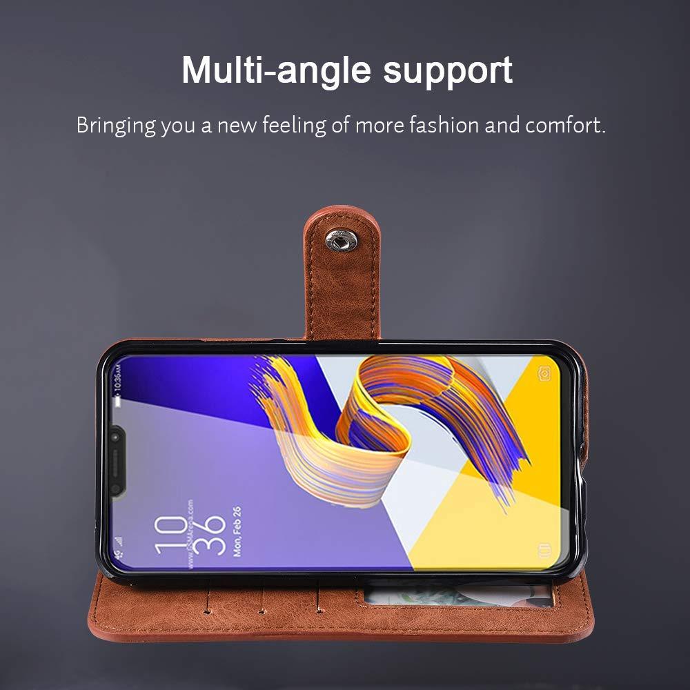 Etui pour Nokia 7 Plus Zumeca Coque Nokia 7 Plus Magn/étique Support Portefeuille Mince avec Emplacement de Cartes pour Nokia 7 Plus Housse Nokia 7 Plus