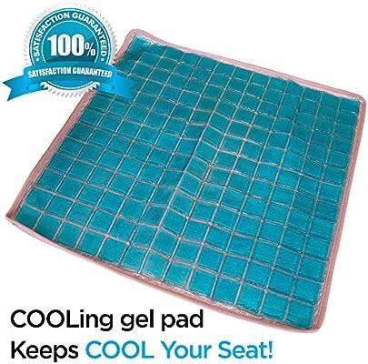 Suave y cuidado de enfriamiento Gel cojín asiento cojines ...
