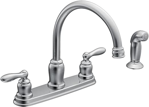 Moen Ca87888 High Arc Kitchen Faucet From The Caldwell Collection Chrome