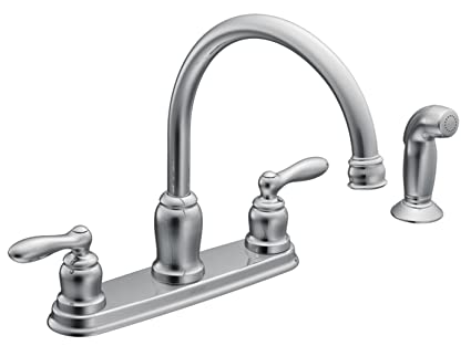 Moen CA87888 High-Arc Kitchen Faucet from the Caldwell Collection ...