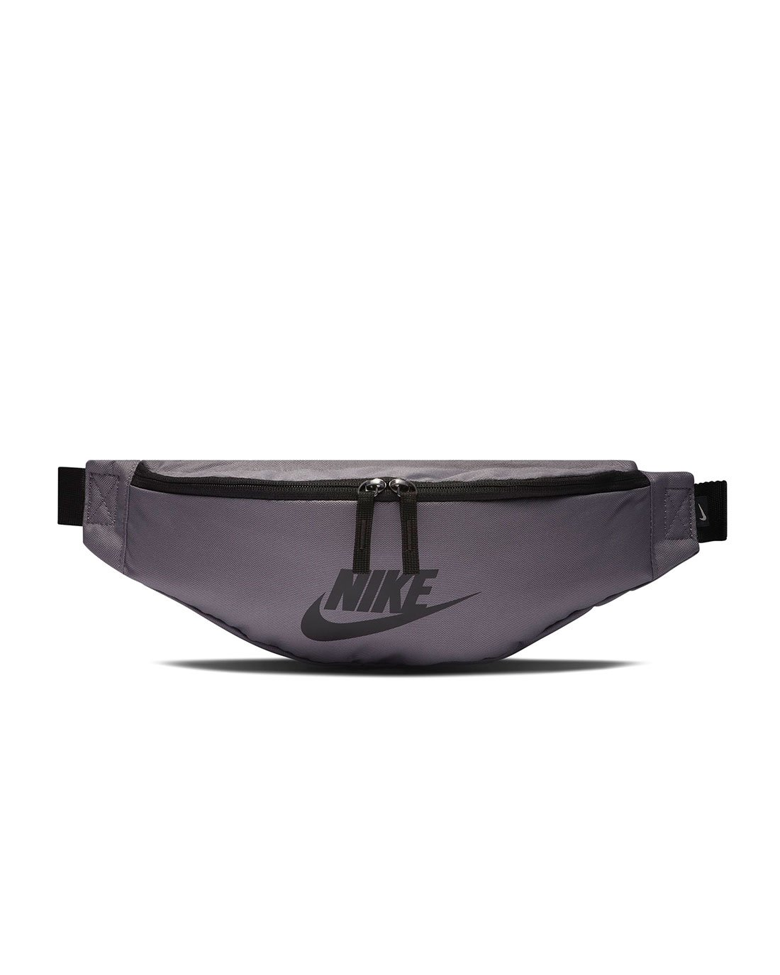 NIKE Heritage Hip Pack Bag, Gunsmoke/Black/Black, Misc