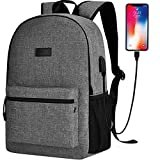Cheap Sunny Snowy High School Backpack,15.6 Inch Laptop Backpack for Men Women,Travel Backpack with Headphone Port (Gray)