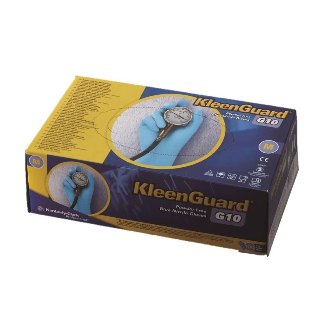 クリーンガード * G10 ブルーニトリルグローブ XSサイズ B0796KGKV7 XS