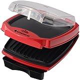Wonderchef Sanjeev Kapoor Tandoor 63151933 1000-Watt Burger and Grill Master (Red and Black)