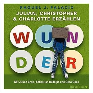 Wunder: Julian, Christopher und Charlotte erzählen Hörbuch