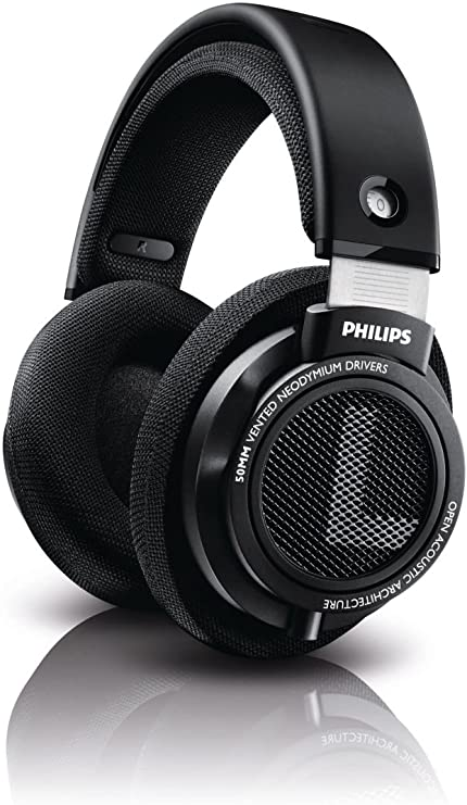 Amazon.com: Philips SHP9500 Audífonos stereo de alta precisión, color negro.: Electronics