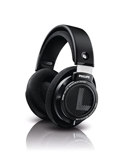 374759bd31f Amazon.com: Philips SHP9500 HiFi Precision Stereo Over-ear Headphones  (Black): Home Audio & Theater