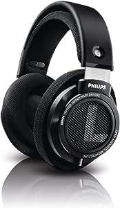 Philips Audio SHB9500//00 Hifi Precision Stereo Over-Ear Headphones, Black