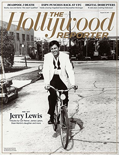 The Hollywood Reporter Magazine (August 23, 2017) Jerry Lewis Cover