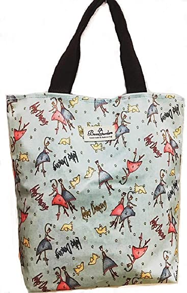 Boat Ocean Fog Tote Bag Purse Handbag For Women Girls
