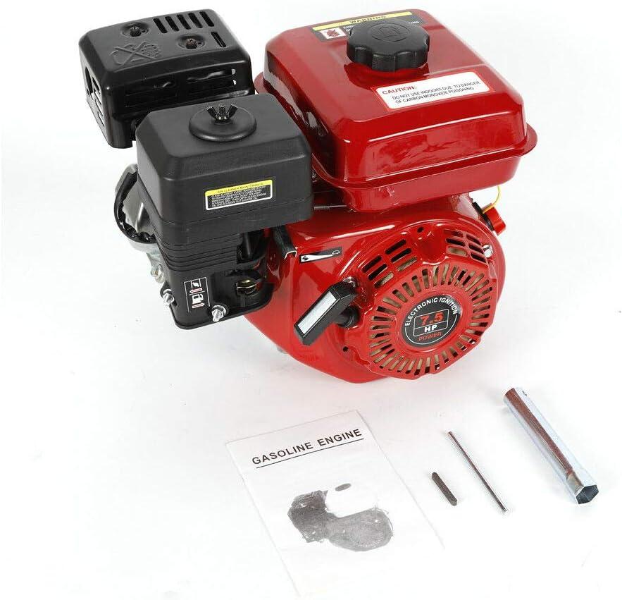 Motor de gasolina de 4 tiempos de 5,1 kW, ZT210, suministro de fuerza de gravedad, motor de arranque manual, bajo consumo de combustible.
