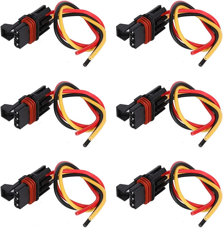 "Pulse Bar Power Plug Bus Wire Connector Harness 6/"" For Polaris Crew//XP 1000 EPS"