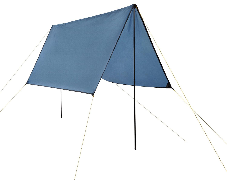 Noorsk Tarp Wetterschutz inklusive Aufstellstangen, Heringen und Abspannleinen UV+50 Schutz, 3x3 Meter oder 4x4 Meter