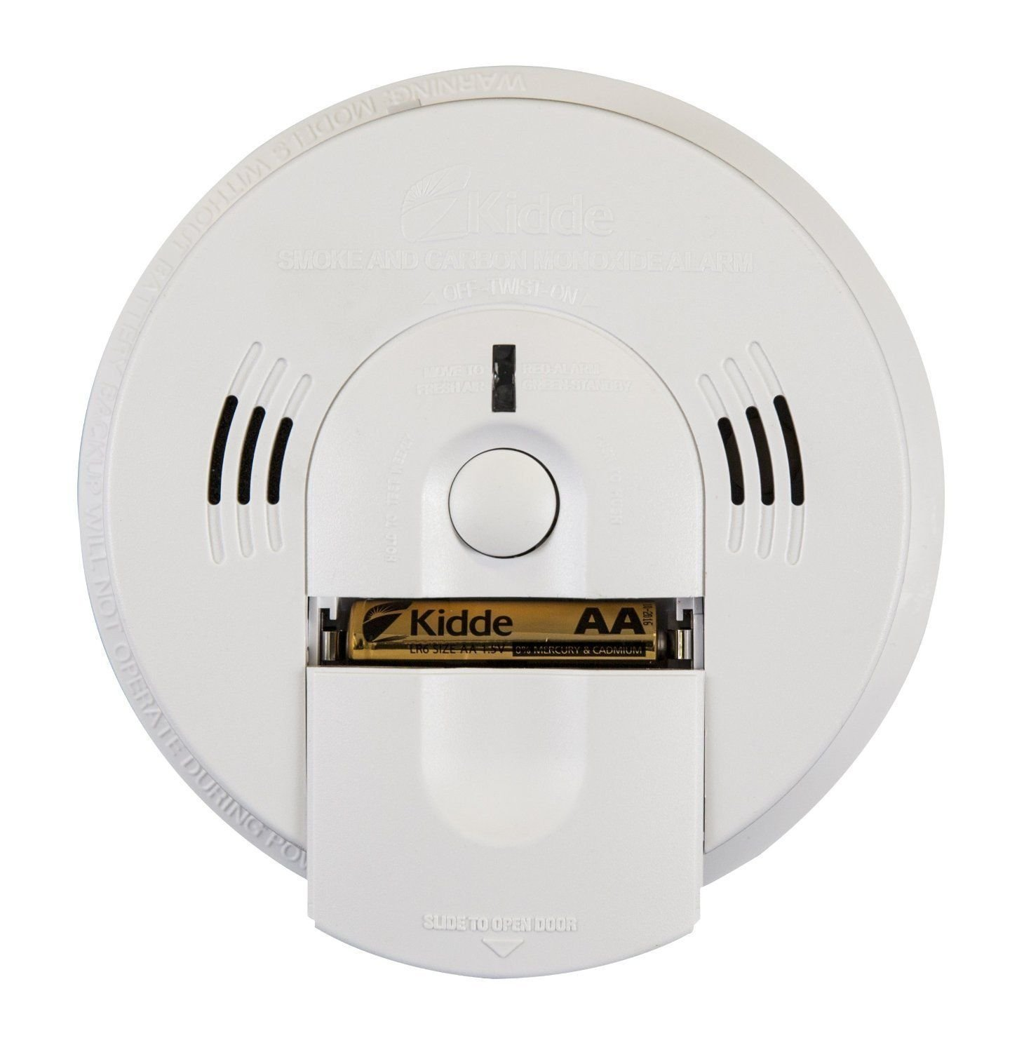 4 Pack Of Kidde KN-COSM-B Battery-Operated Combination Carbon Monoxide and Smoke Alarm with Talking Alarm by Kidde