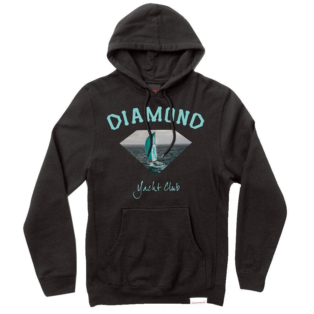 Diamond Supply Co. OG Yacht Club Hoodie schwarz