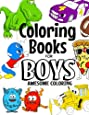 Coloring Books For Boys Awesome Coloring: For Boys Aged 4-8