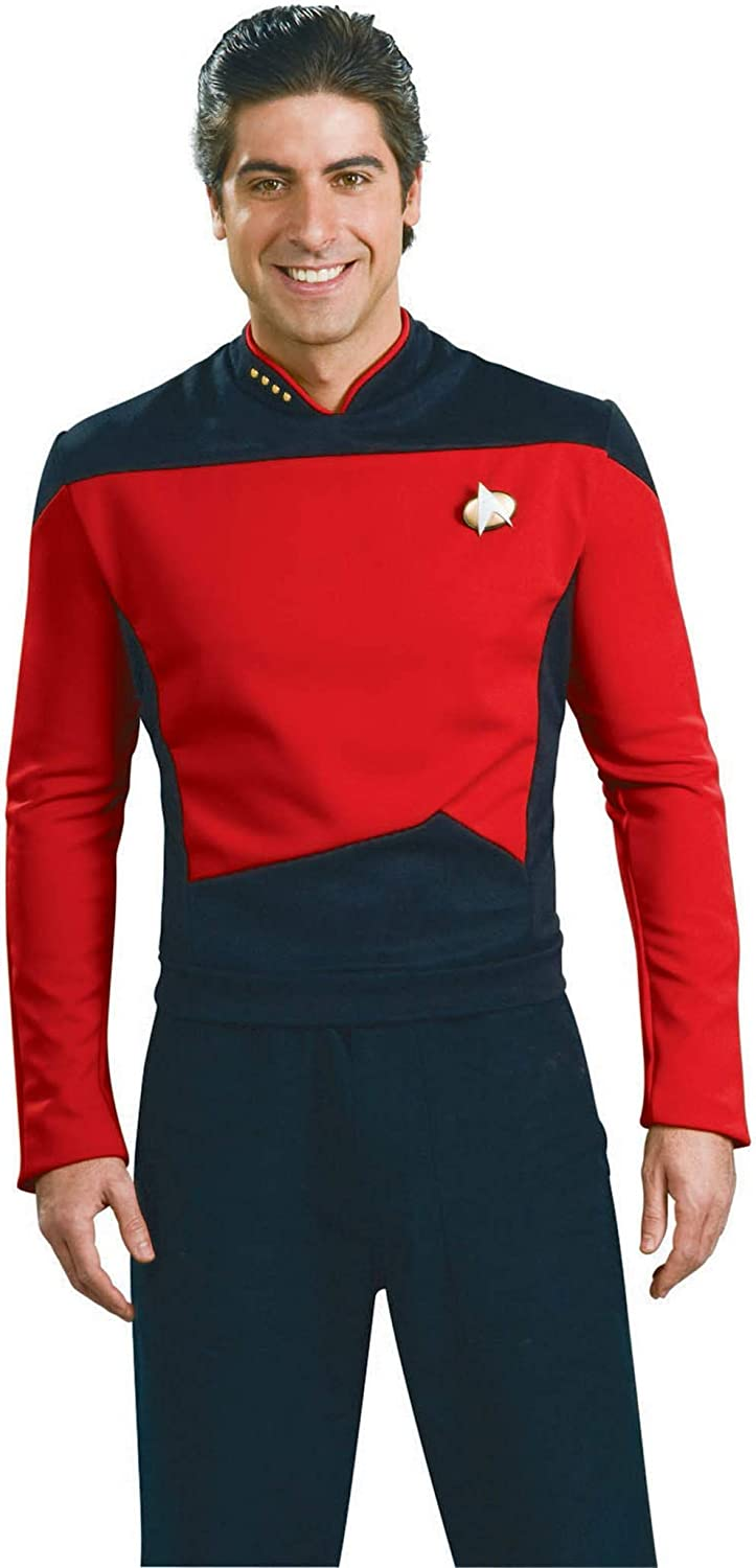 Rubie's Star Trek The Next Generation Deluxe Commander Picard Adult Costume Shirt