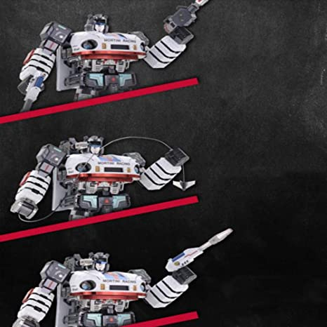 MQKZ Creative Jazz Robot King Kong versión de aleación líder Coche ...