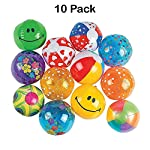 Vinyl Inflatable Mini Beach Ball (Pack of 10) – Sports & Outdoors, Sports & Fitness, Leisure Sports & Game Room, Outdoor Games & Activities, Balls, Beach Balls – By Kidsco