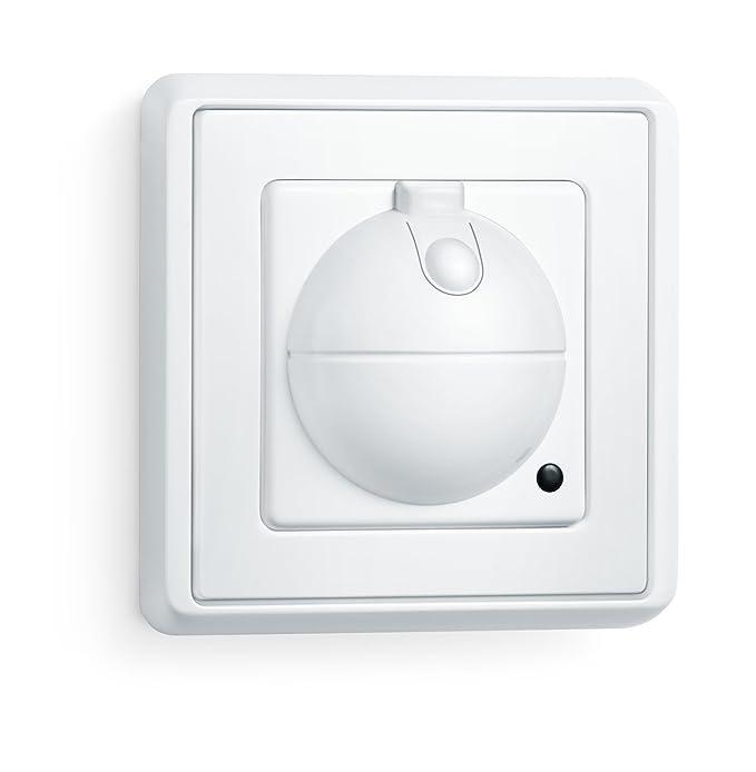 Steinel HF 360 UP interrupteur á détecteur  encastré, détecteur de mouvement hyper fréquence avec une zone de détection de 8 m, allume immédiatement la lumière idé
