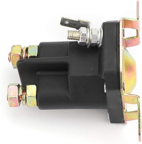 3 Pfosten passend f/ür 7701100MA 7769224MA 94613MA 9924285 110832X Artudatech Starterrelais Magnetspule Rasentraktor
