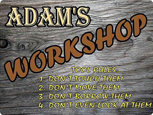 adam-workshop-tool-rules-wood-effect-design-decor-sign-9x12-plastic