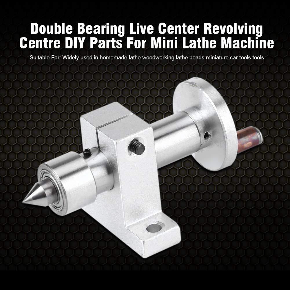 Mini Machine de Tour Portant Le Centre Vivant des pi/èces de Bricolage Outils de Voiture Centre de Rotation
