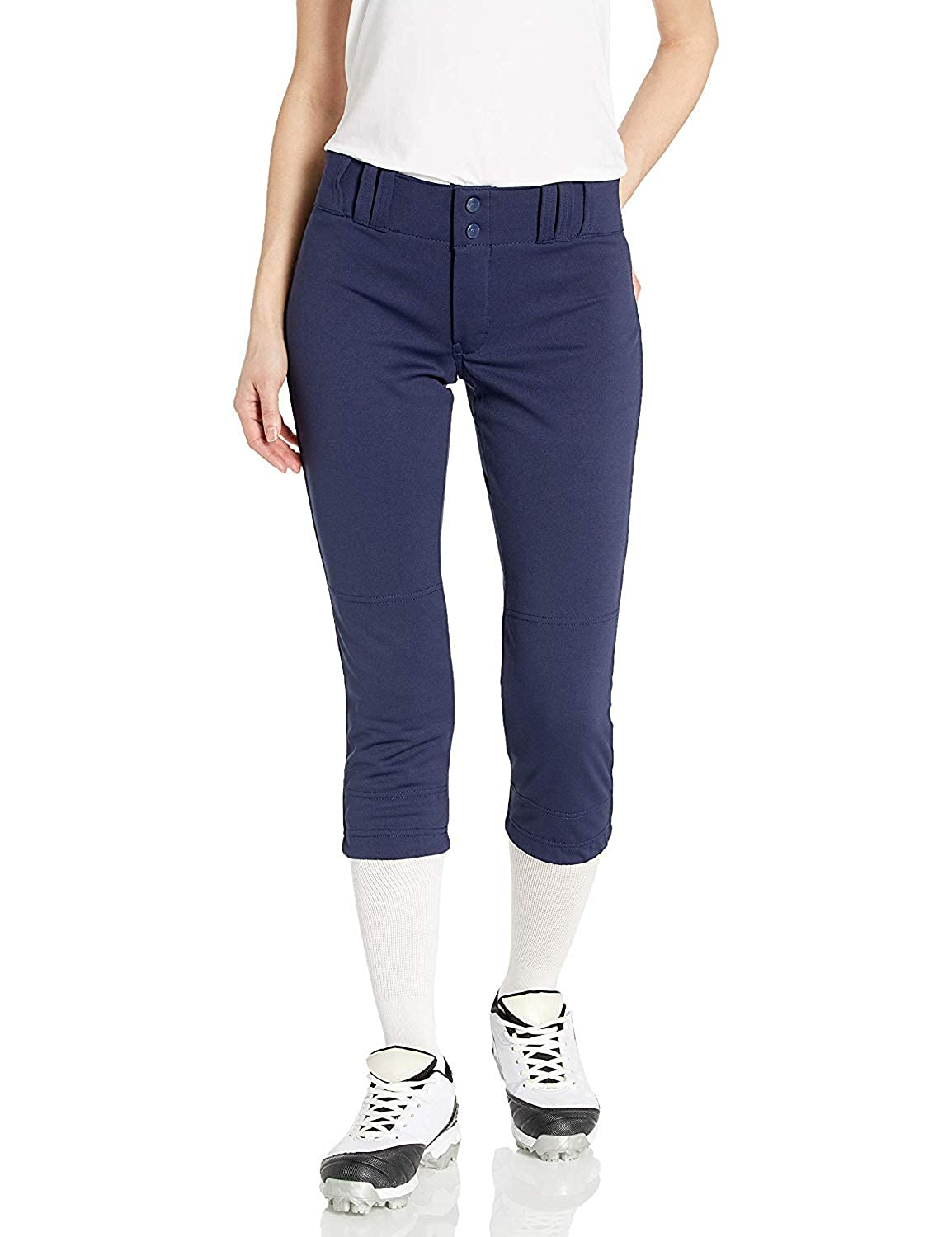 Small CHAMPRO Unisex-Youth Tournament Low Rise Fastpitch Softball Pant Navy