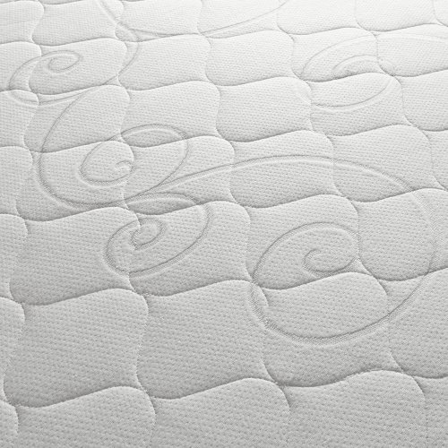 Sleep Innovations Alden 14-inch Memory Foam Mattress, Bed in a Box, Tufted Cover, Made in The USA, 10-Year Warranty - King Size