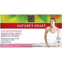 Nature's Heart Infusión Herbal para el periodo de Lactancia, 20 Sobres