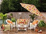Pillow Perfect Indoor/Outdoor Primro Wicker