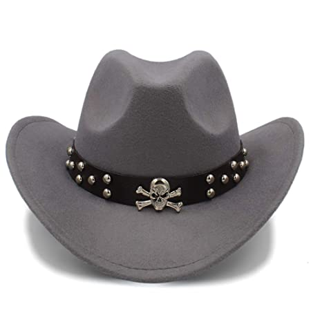 978b928e01740 GS-Hat New Unisex Fashion Western Cowboy Hat Solid Tourist Cap Outdoor Wide  Brim Jazz Caps Gorras Wholesale (Color   Gray