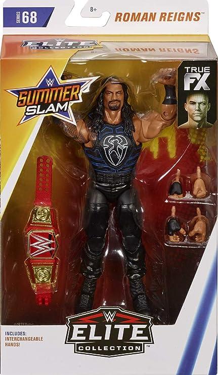 Roman Reigns WWE Elite 65 Mattel Toy Wrestling Action Figure