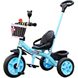LovemyhomeDD Tricycle Trike Bike Ride on Toys w/Push Handle Pedal for Kids