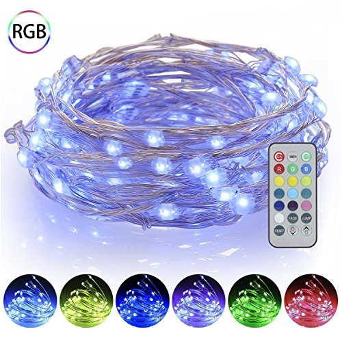 Led Christmas Lights Purple Blue - 5