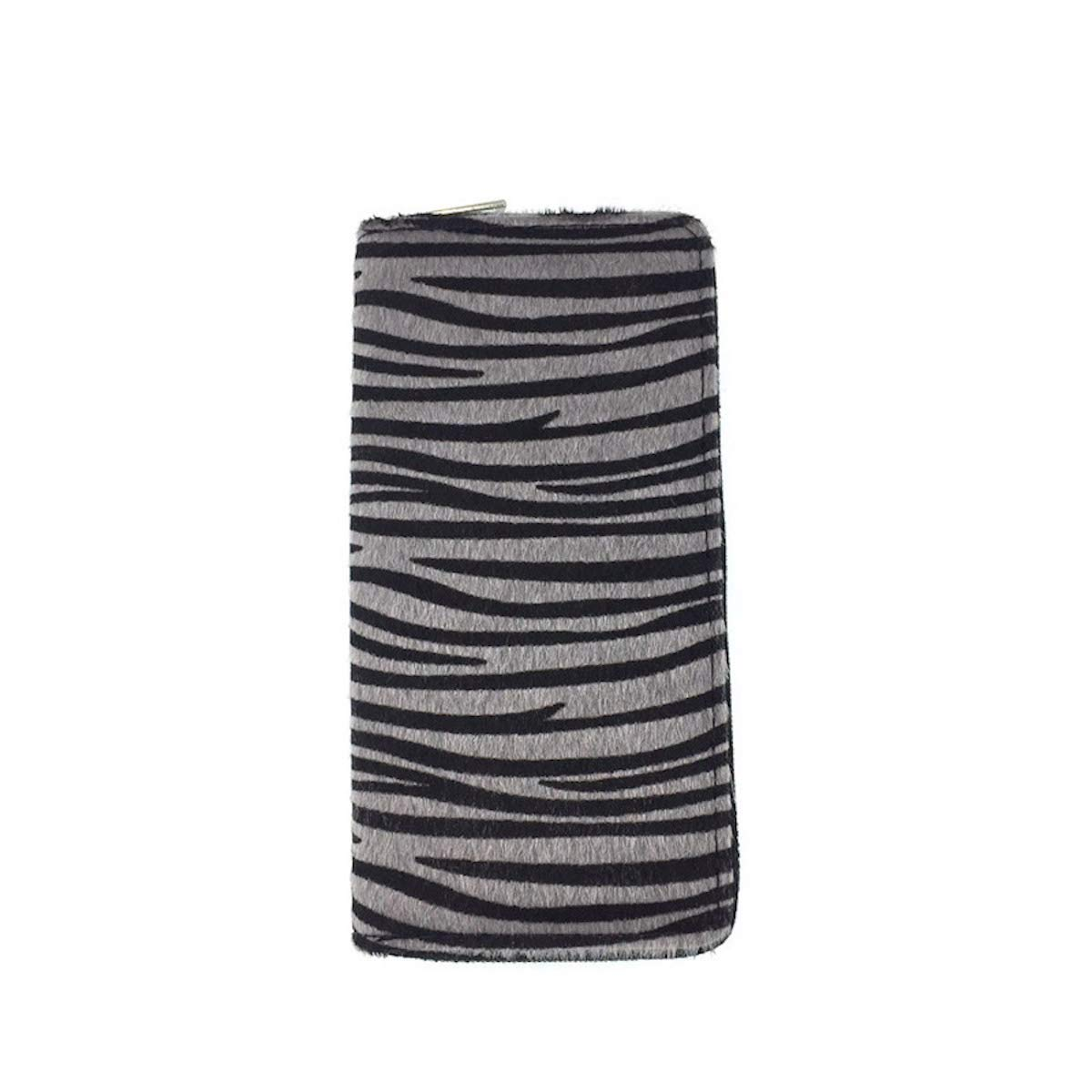 Wallet All-in-One Faux Leather Long Zippered Clutch in Fun and Unique Prints