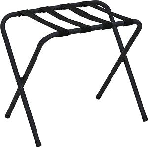 Furinno Foldable Luggage Rack, Black