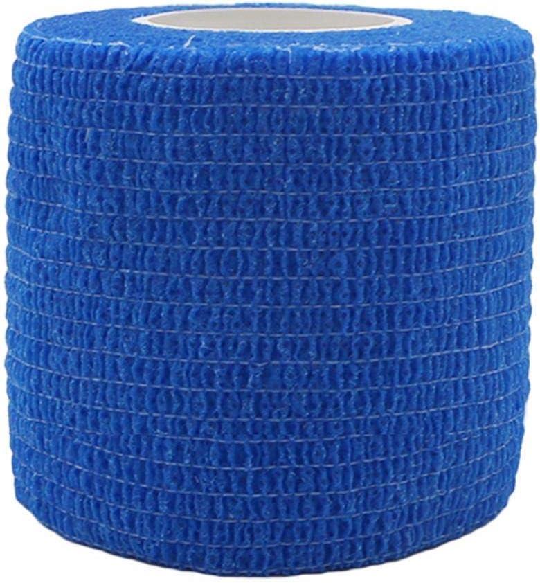 Tessuto non tessuto Blue Achidistviq bendaggio elastico garza tape Medical finger muscoli caviglia Wrap sport allenamento sport della fascia elasticizzato colore non tessuto autoadesivo benda elastica 10*450cm
