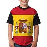 Estampado Entero España Bandera Hombre Moda Camiseta - sintético ...