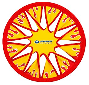Schildkröt Funsports Disc Frisbee, Gelb/Rot, 30 cm, 970124