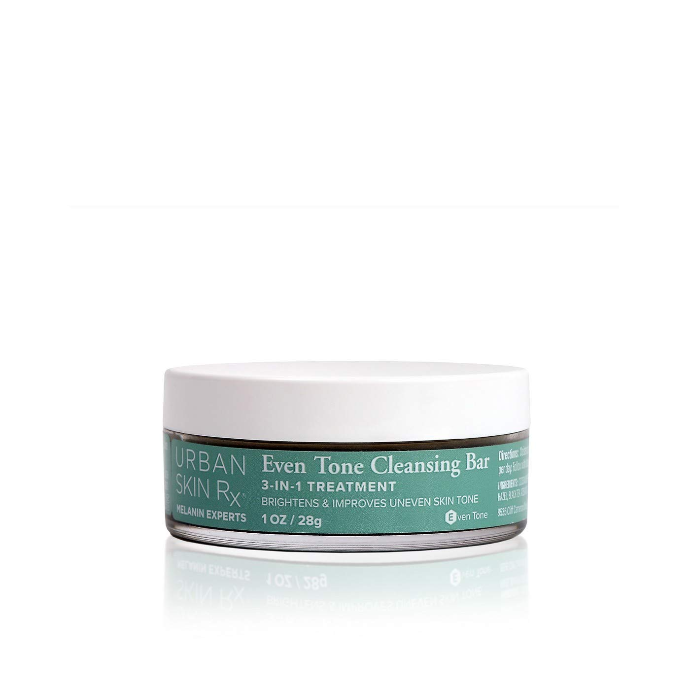 Urban Skin Rx 3 in 1 Even Tone Facial Cleansing Bar 1oz, pack of 1