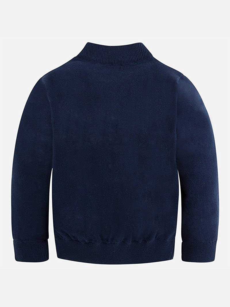 Navy Mayoral Basic Cotton Pullover for Boys 0324