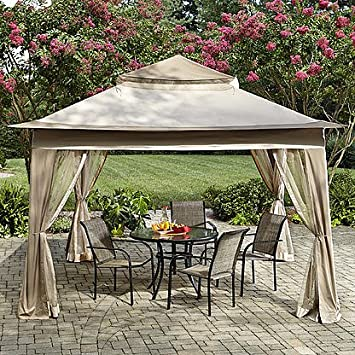 Amazoncom Essential Garden Pop Up Gazebo with netting Patio
