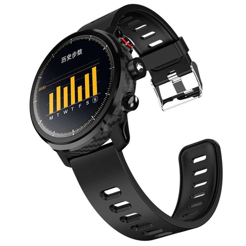 Noir OOLIFENG Montre Connectée Fitness Bracelet Podometre Tracker d'activité Etanche IP68 pour Femme Homme Enfant