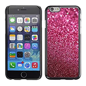 Impact Case Cover with Art Pattern Designs FOR Apple Iphone 6 Plus 5.5 Glitter Pink Purple Bling Sand Reflective Betty shop